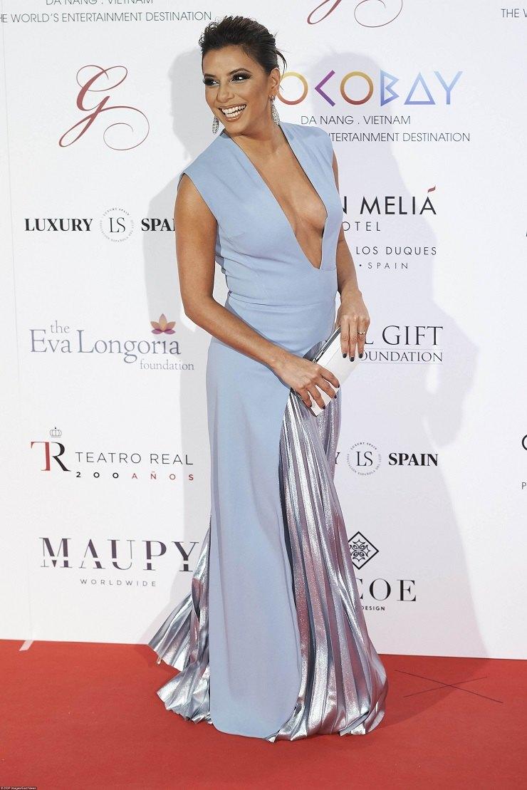 Ева Лонгория наThe Global Gift Gala вМадриде