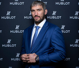 Хоккеист Александр Овечкин стал другом Hublot