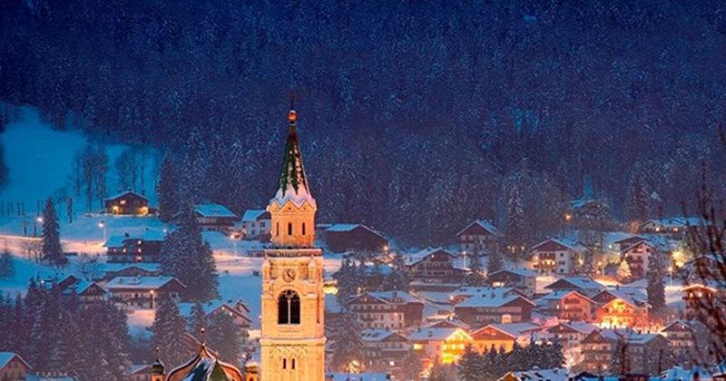Куда поехать зимой? ВДоломитовые Альпы!