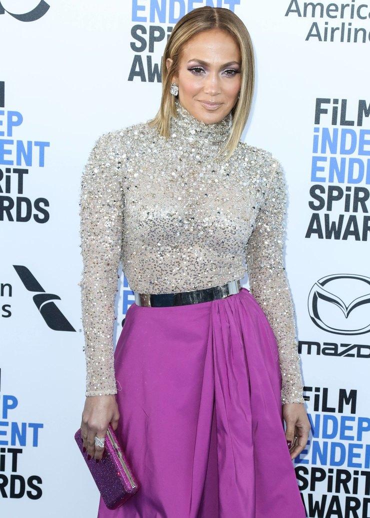 Дженнифер Лопес наFilm Independent Spirit Awards 2020 год