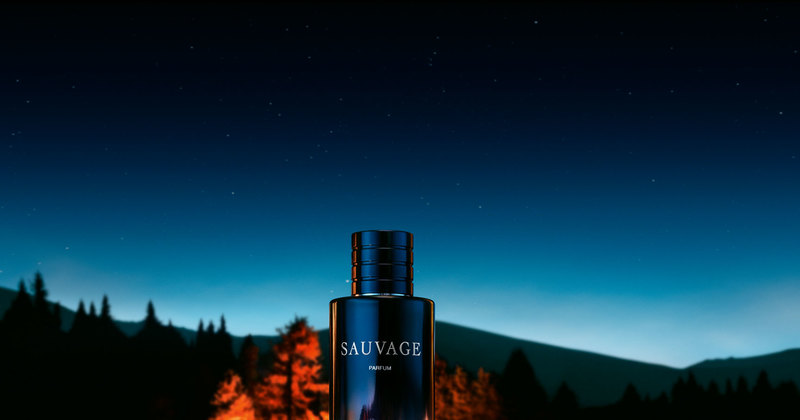 Жгучие языки пламени вновом аромате Dior Sauvage Parfum