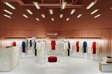 В ТЦ «Метрополис» открылся первый монобрендовый бутик Terekhov Girl