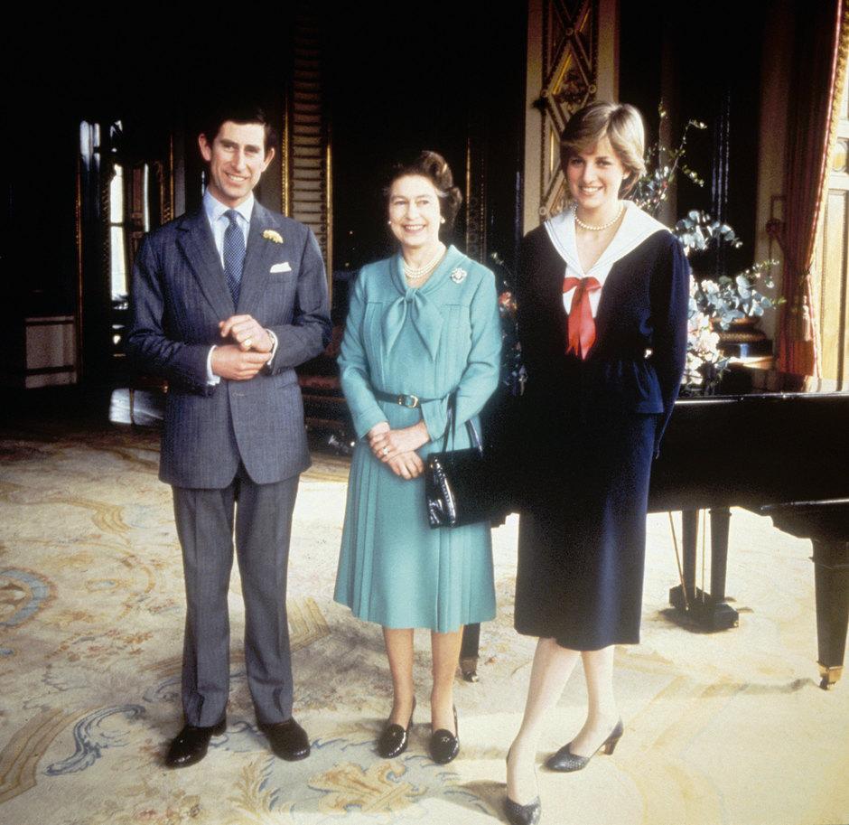 Принцесса Диана, Принц Чарльз иКоролева Елизовета , 1981