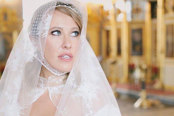 «Врассыпную как крабики»: Ксения Собчак пошутила освоем гостевом браке