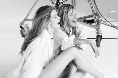 Красота вквадрате: Джиджи Хадид снялась врекламной кампании вместе сКейт Мосс