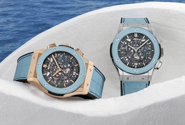 C любовью клету: новые часы Hublot Classic Fusion Chronograph Mykonos