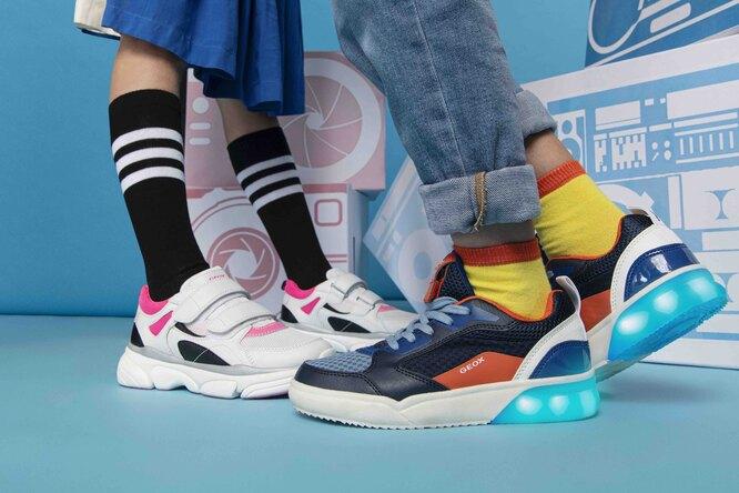 Выбираем обувь длядетей извесенне-летней коллекции Geox