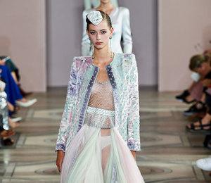 Неделя Высокой моды в Париже: контрасты и градиент на показе Armani Prive