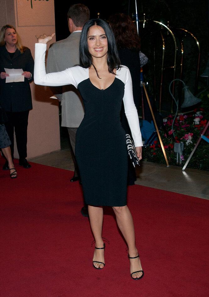 Сальма Хайек в 2002 году
