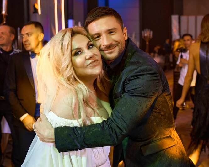 Марина Федункив и Сергей Лазарев