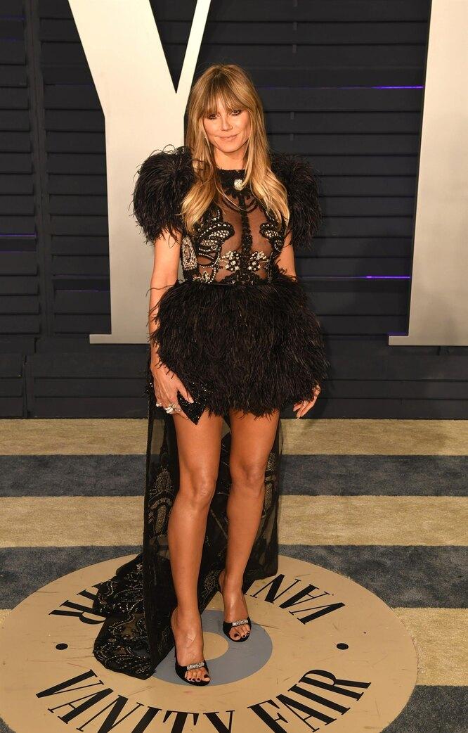 Хайди Клум, 2018, Grammy Awards