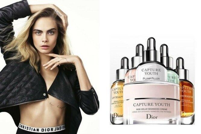 Dior представил новую линию средств, предупреждающих старение кожи Capture Youth