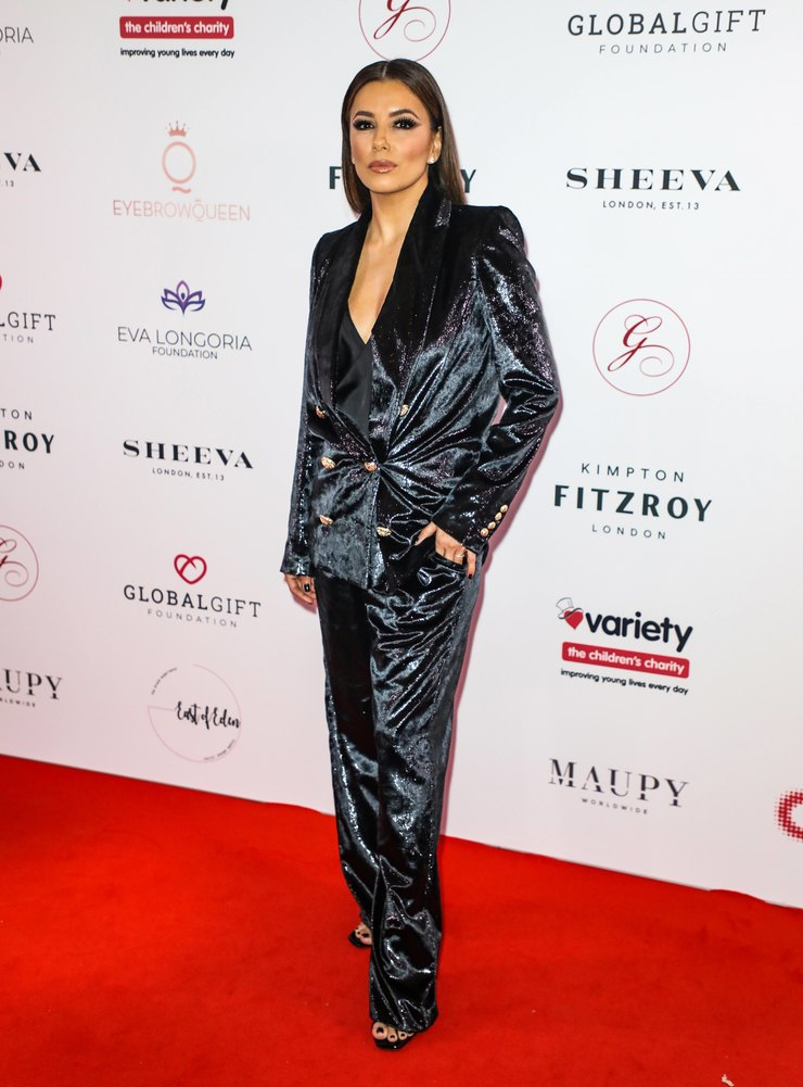 Ева Лонгория  Global Gift Gala at Kimpton Fitzroy  2019