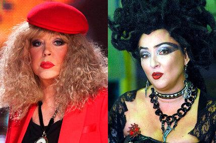 И вот они нарядные: самый странный инелепый макияж знаменитостей на«Голубых огоньках»