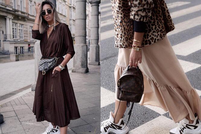 Время пришло: 8 идей носить неприятный, но очень модный вэтом сезоне коричневый