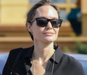 Будни звезды: Анджелина Джоли продает лакомства для собак