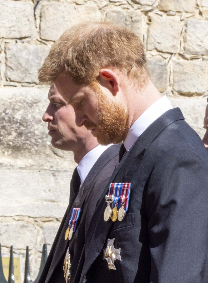 Принц Гарри с братом