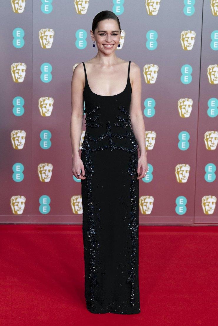Эмилия Кларк напремии BAFTA 2020 год