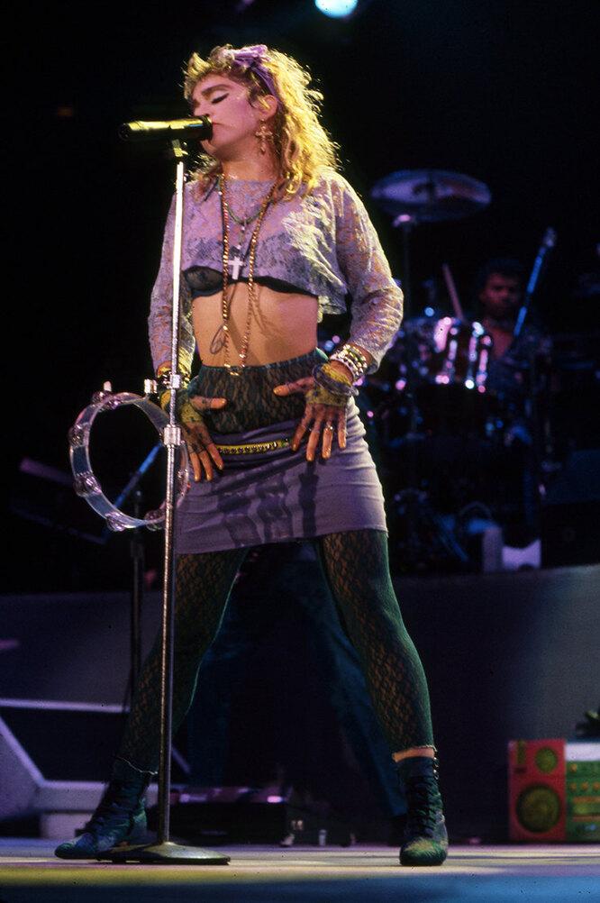 Мадонна в 1985году.