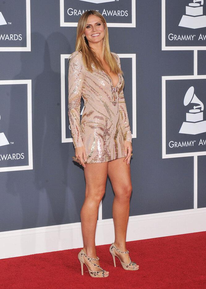 Хайди Клум, 2010, Grammy Awards
