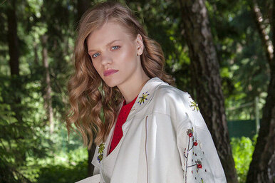 Наивная мода: коллекция московского бренда Katysheva