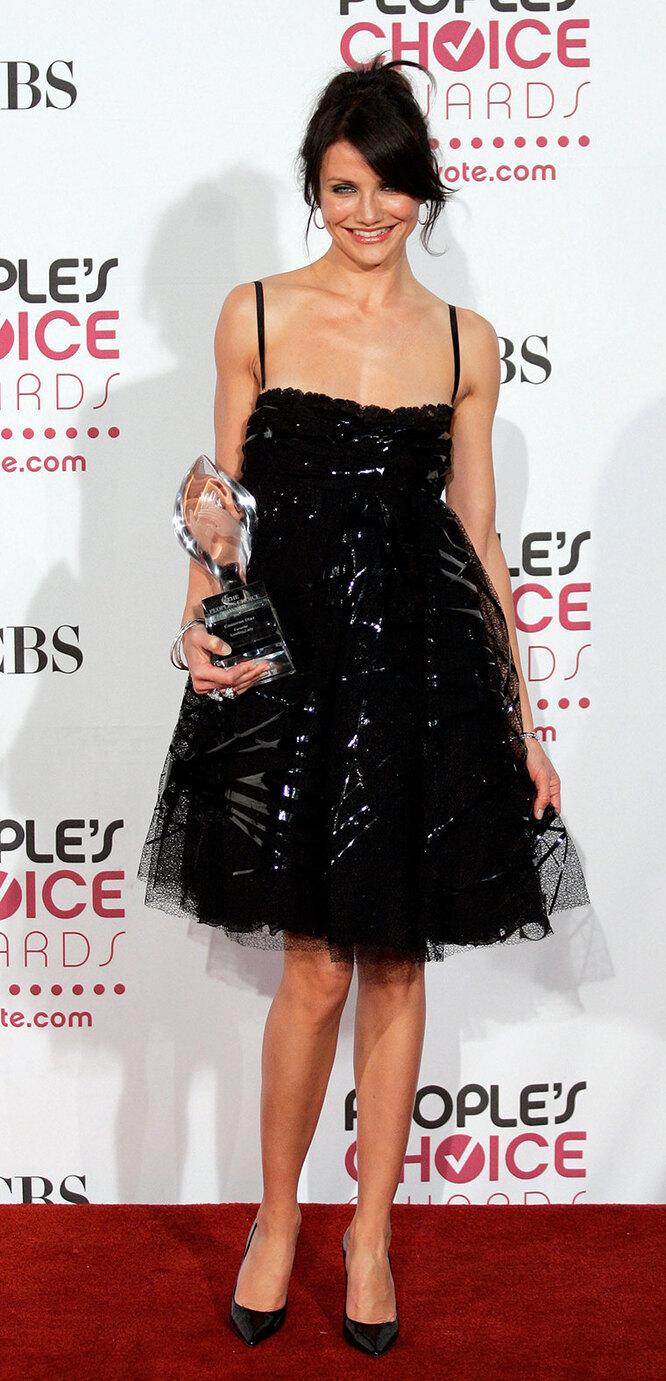 Кэмерон Диаз в 2007 году на церемонии вручения премииPeople's Choice Awards