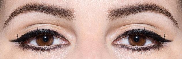 идеальные стрелки намаленьких глазах фото