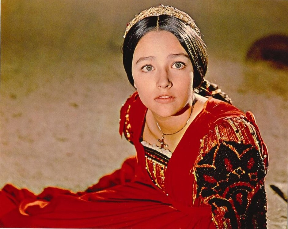 Оливия Хасси вфильме «Ромео иДжульетта»
