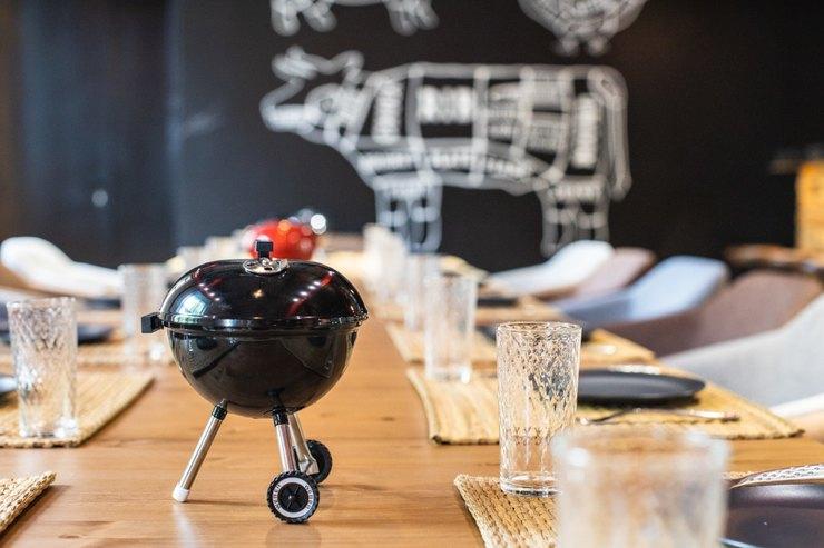 Новое кулинарное пространство вМоскве: Академия Гриля Weber