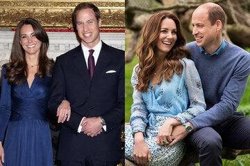 Оловянная свадьба: как изменились принц Уильям иКейт Миддлтон за10 лет брака