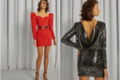 Блестящая идея: 14 новогодних платьев Sorelle встиле 80-х
