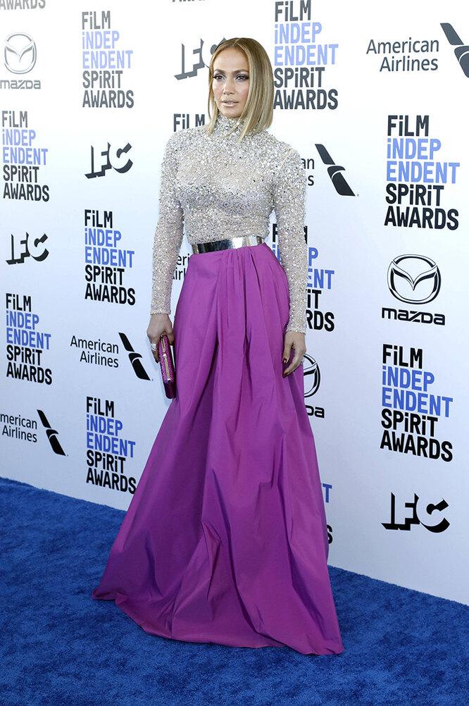 Дженнифер Лопес наSpirit Awards в 2019 году
