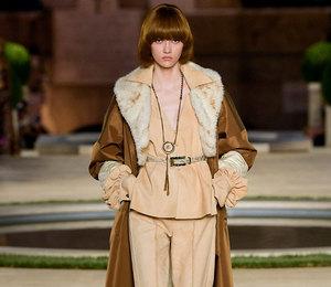 Неделя Высокой моды в Париже:  наследие Карла Лагерфельда на показе Fendi