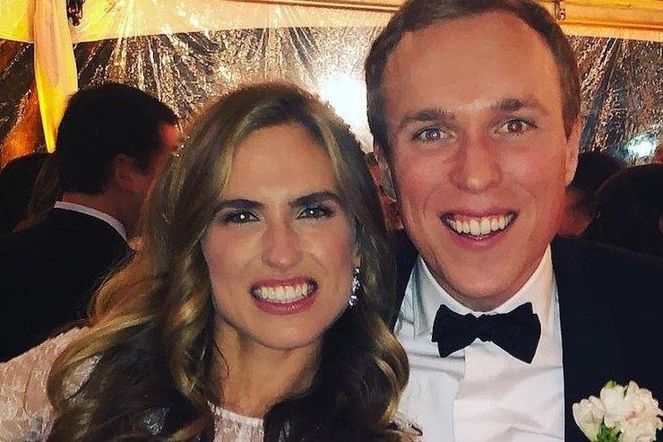 29-летняя внучка Джорджа Буша-старшего вышла замуж