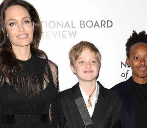 Это семейное? Старшая дочь Анджелины Джоли тоже одевается как мальчик