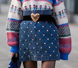 8 юбок из денима, которые нужны в базовом гардеробе этой зимой