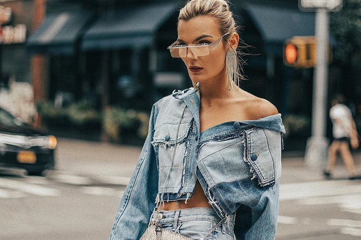 Американские модницы показывают, счем носить джинсы насвидание