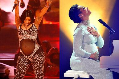 Шоу должно продолжаться: Карди Би идругие знаменитости, которые выступали во время беременности