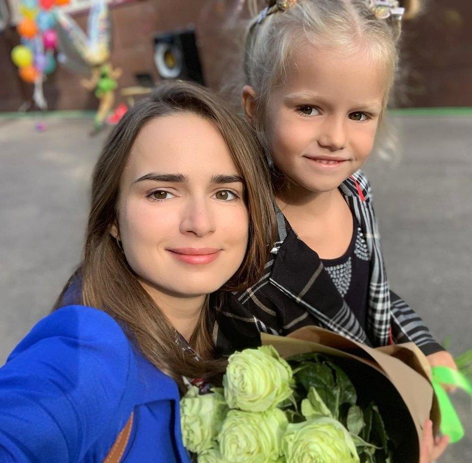 Софья Карпунина сдочерью Клементиной Шипенко