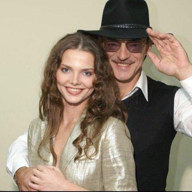 Михаил Боярский с дочерью Елизаветой