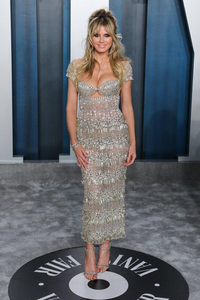 Хайди Клум, 2020, Vanity Fair Oscar Party