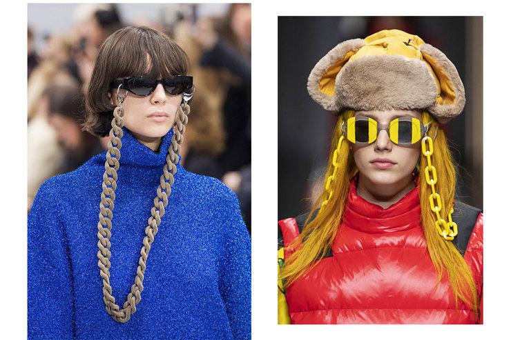 Висят наниточке: досье насамые модные очки будущей осени