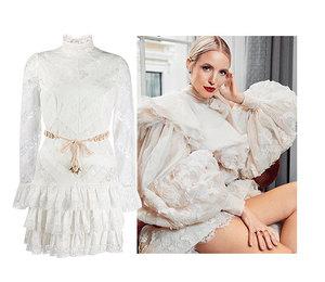 12 белоснежных платьев для встречи Нового года, которые пригодятся вам и в будни