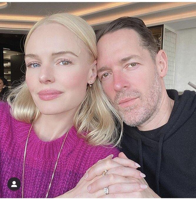 Кейт Босуорт с мужем Майклом Полишем