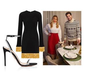 Ретро-платье и жемчужные серьги: что надеть, если вы отмечаете Новый год с родителями бойфренда