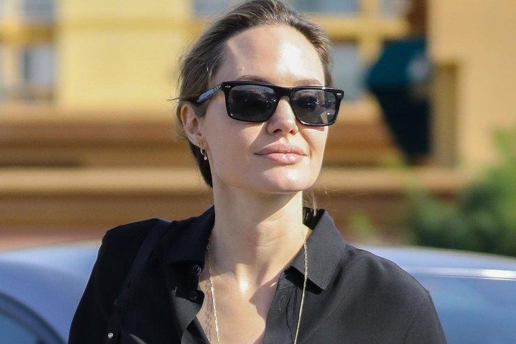 Будни звезды: Анджелина Джоли продает лакомства длясобак