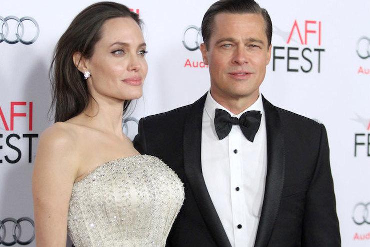 Анджелина Джоли отказала Брэду Питту вперемирии