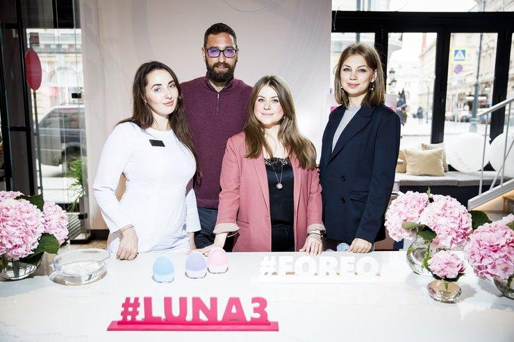 Шведский бренд FOREO представил новую щеточку дляочищения кожи LUNA 3