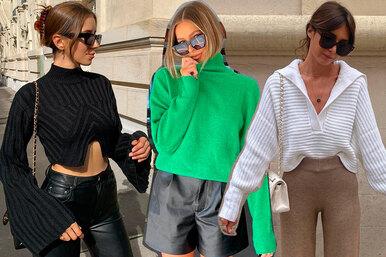 Зима близко: 8 актуальных свитеров, которые нужно купить прямо сейчас