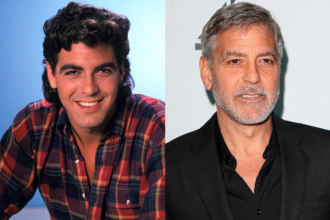 Джордж Клуни, 1985 и сейчас